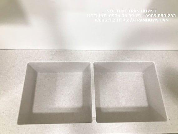 Lavabo đá Solid surface nhân tạo